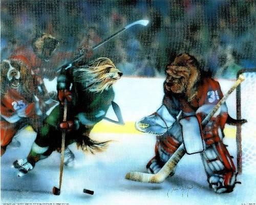 Hockey By Dan Mcmanis Dogsplayingpoker Org