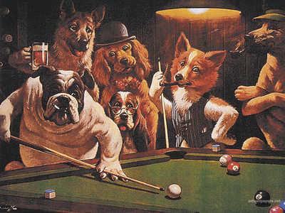 Hustler By Arthur Sarnoff Dogsplayingpoker Org