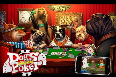 Famous Poker Player Painting